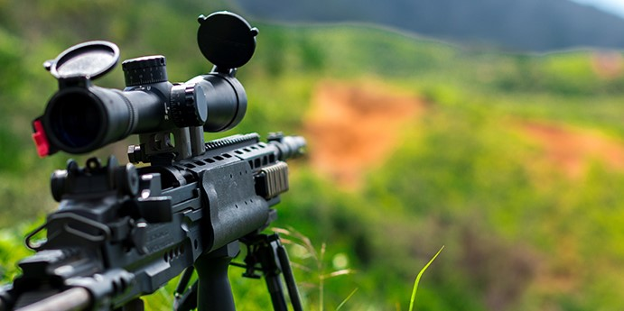 Gun Scope for 6.5 Creedmoor