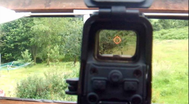 Holographic Scope Reticle
