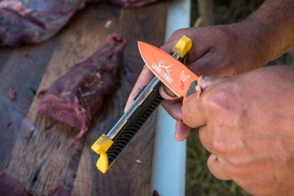 Sharpen A Hunting Knife