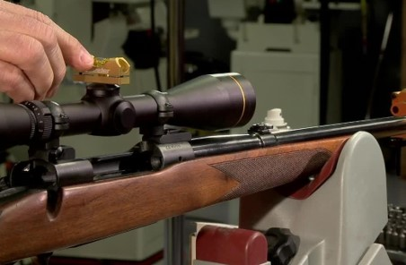 Mount the scope on your .22 rifle
